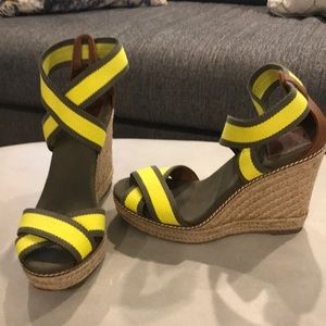 Tory Butch Wedge Size 8